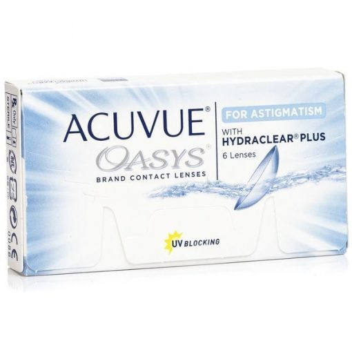 Acuvue Oasys for Astigmatism - Óptica 24/7 Chile